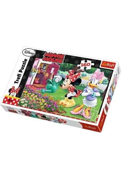 Trefl 160 Parça Puzzle : Minnie Mouse Çiçek Bakımı