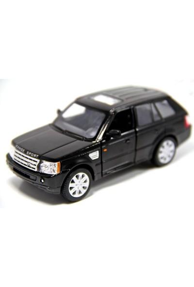 Kinsmart Range Rover Sport (Siyah) 1:38 Metal Çek Bırak Araba