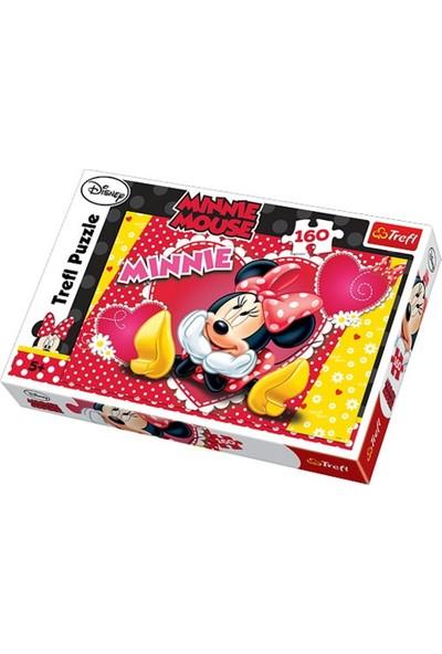 Trefl Puzzle 15220 : 160 Parça Düşünen Minnie Mouse