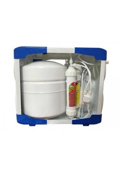 AQUA BELLA Kapalı Kasa Tezgah Altı Pompasız Su Arıtma Cihazı AQUA-040