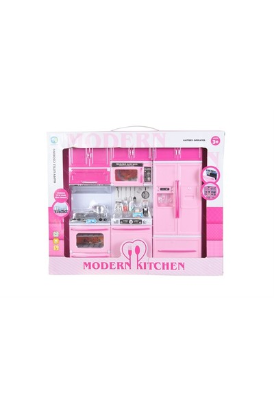 Modern Kitchen-Oyuncak Mutfak Seti