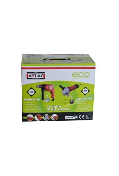 Attlas Eco 2'li Set Matkap ve Taşlama