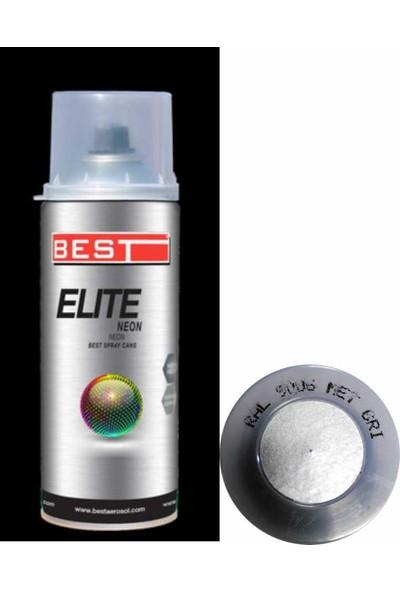 Best Elite Metalik Gri Sprey Boya 400Ml 25531R