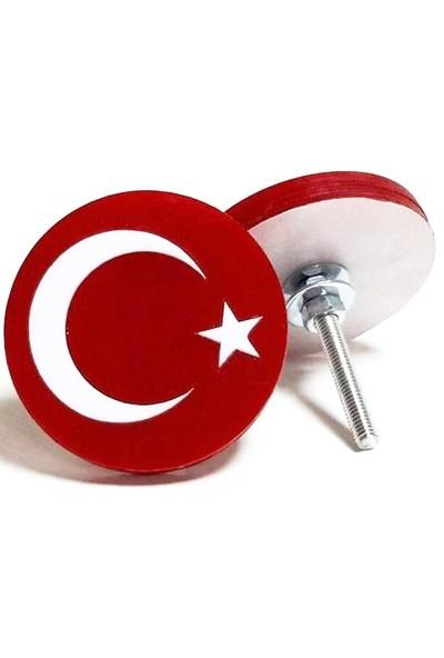 Süslenoto Panjur Arması Türkiye Yuvarlak