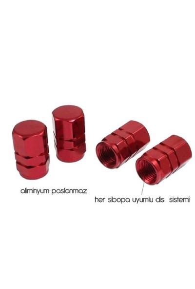 Süslenoto Sibop Kapağı Metal Kırmızı 5531118