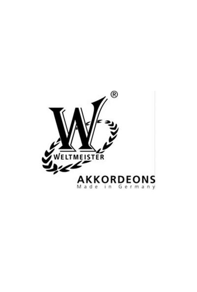 Akordiyon Weltmeister Kristall 30/60/III/5 Kırmızı 01010568