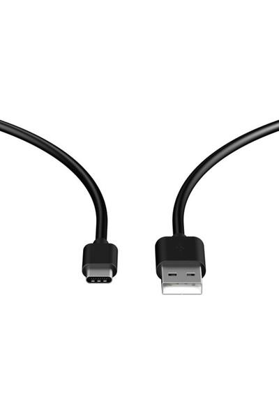 KılıfShop Samsung Galaxy Note 7 USB Type C 3.0 Kablo (Siyah)