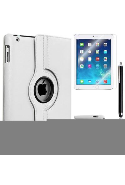 Kılıfland Apple İpad 2 Kılıf 360 Standlı +Film+Kalem