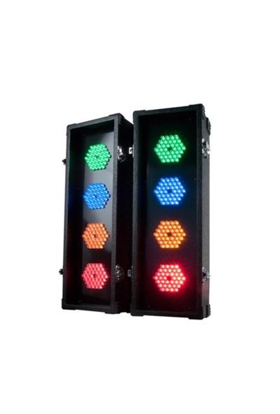 Amerikan Dj Flashback-4 Katlanabilir Led Işık Sistemi Seti