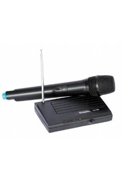 Doppler Vh-100H El Tipi Telsiz Mikrofon