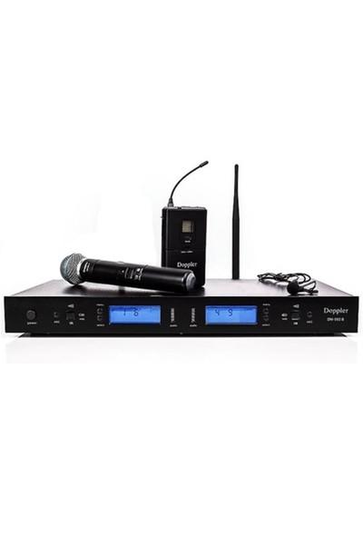 Doppler Dm502Hb Telsiz Mikrofon El+Yaka