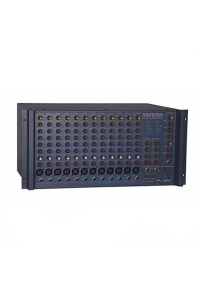 Startech Safran-2000 Power Mikser Amfi 2X1000 Watt 12 Kanal