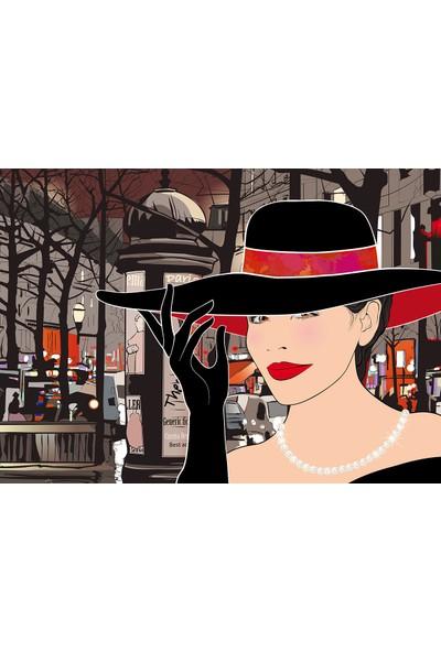 Duvar Tasarım DLC 1310 City & Mix Led Kanvas Tablo - 70x50 cm