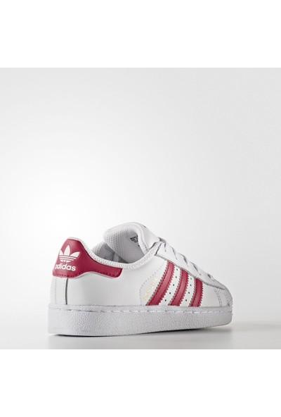 Adidas Çocuk Günlük Ayakkabı Ba8382 Superstar Foundation C