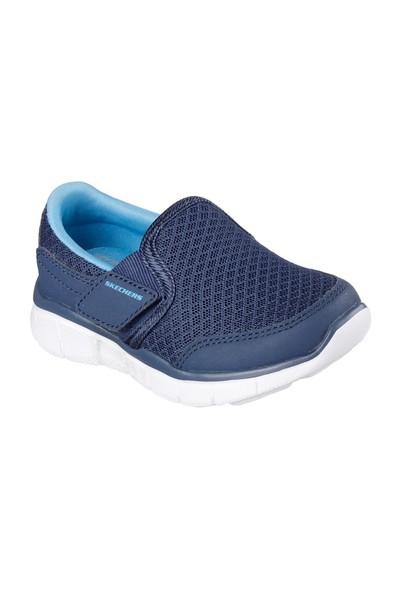 Skechers Equalızer Çocuk Spor Ayakkabı 95489N_Nvbl