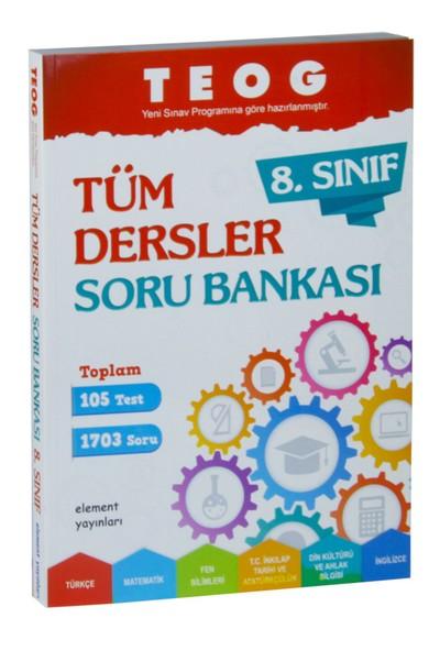 Element Yayınları 8. Sınıf Teog Tüm Dersler Soru Bankası