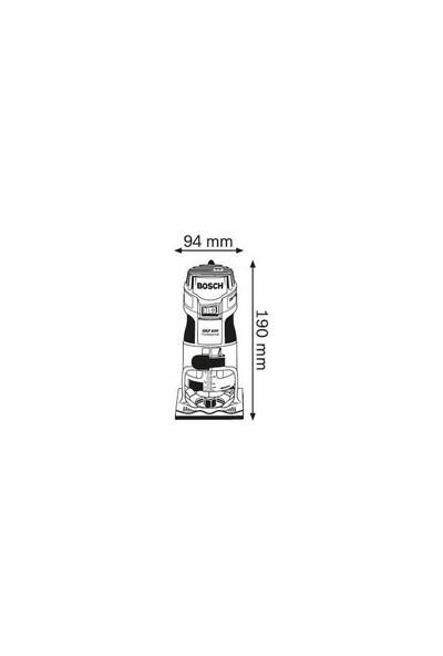 Bosch Gkf 600 Formika Traşlama