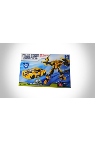 İnova 244 Parca Transformer Ausie Lego Seti