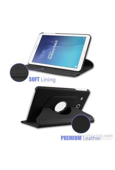 İdealtrend Samsung Galaxy Tab Note 10.1 P602 360 Dönebilen Kırmızı Stand Kılıf