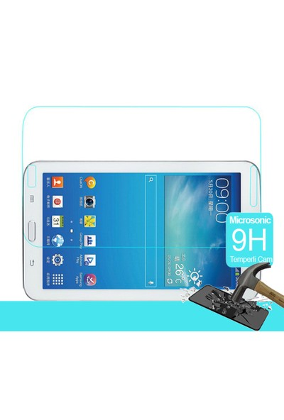 İdealTrend Samsung Galaxy Tab E T560 9H TEMPER Kırılmaz Cam Ekran Koruyucusu