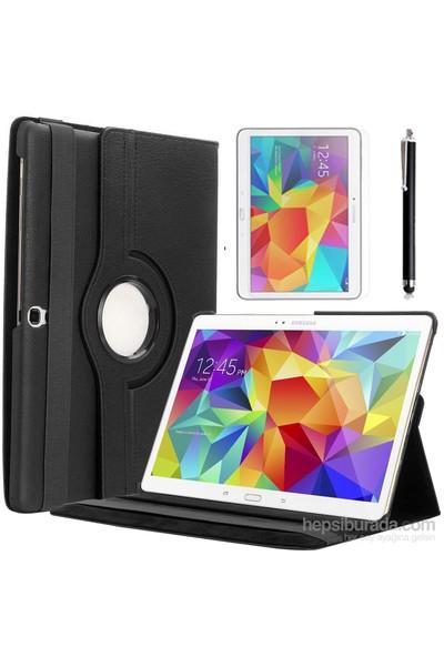 Kılıfland Samsung Galaxy Tab S T800 Kılıf 360 Standlı Siyah+Film+Kalem