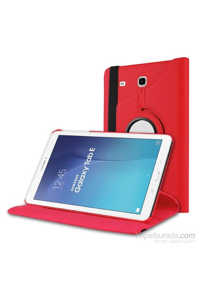 "İdealtrend Samsung Galaxy Tab A T350 8"" 360 Dönebilen Pembe Stand Kılıf"