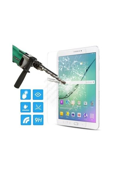 """İdealtrend Samsung Galaxy Tab A T350 8"""" 9H Temper Kırılmaz Cam Ekran Koruyucusu"""