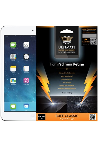 BUFF iPad Mini 2-3 Darbe Emici Film