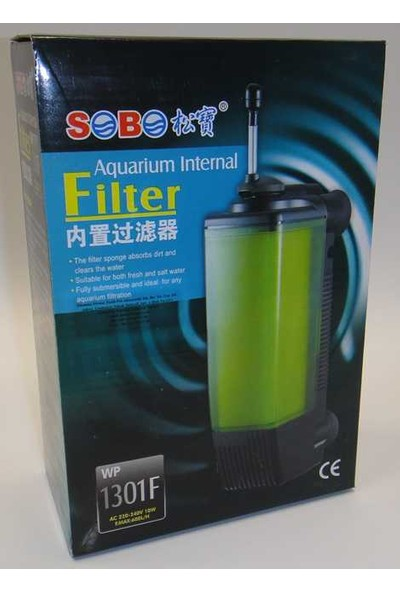 Sobo Wp-1301F Akvaryum İç Filtre