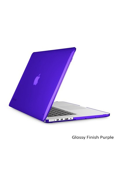 "Speck Smartshell Macbook Pro Retina 15"" Koruma Kılıf - Glossy Finish Purple"