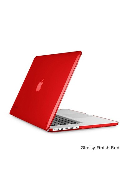 "Speck Smartshell Macbook Pro Retina 15"" Koruma Kılıf - Glossy Finish Red"