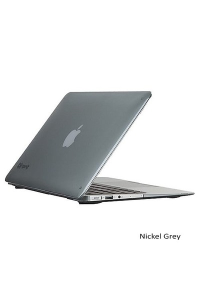 "Speck Smartshell Macbook Air 11"" Koruma Kılıf - Nickel Grey"