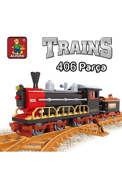 Bricks 406 Parça Tren Seti