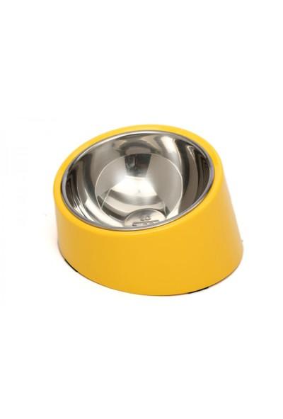Super Design Ml990383 L Sarı Yatay Mama Kabı
