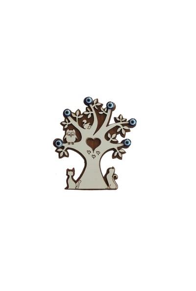 Myros Ağaç Ahşap Magnet