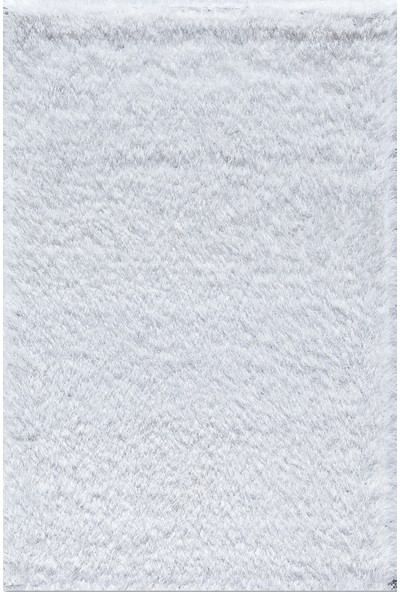 Je Veux Home Lux Shaggy Beyaz Halı 80x150 cm