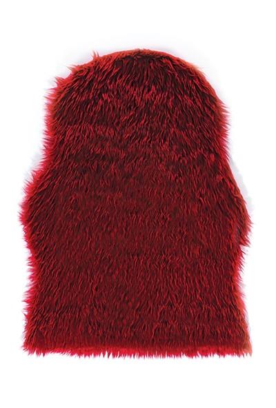Je Veux Home Post Peluş Kırmızı Halı 100x150 cm