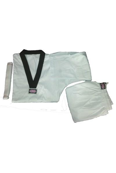 Cyclone Taekwondo Siyah Yaka Elbise