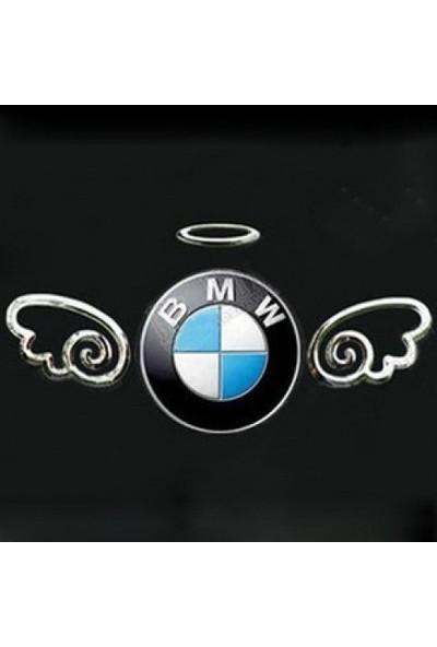 Melek Kabartma Araç Otomobil Logosu Stıcker Etiket Cs008