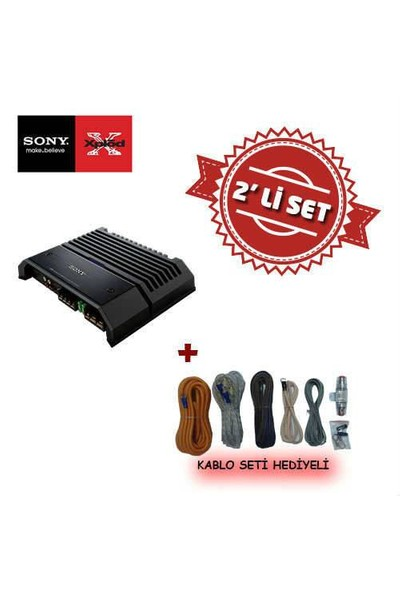 Sony XM-GS100 Mono Amfi Kablo Seti
