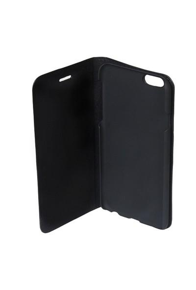 Deritel iPhone 6 Plus Deri Kılıf Kelebek