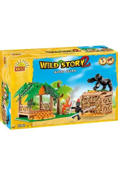 Cobi 22102 Jungle Guard 100 Parça Wild Story