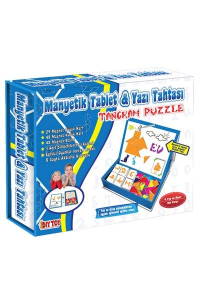Diytoy 3445 Manyetik Tablet Tangran Eğitim Seti
