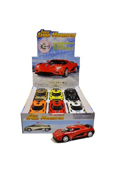 Vardem Oyuncak 6080Dc Açık Çek-Bırak Işıklı Sesli Süper Yarış Arabası