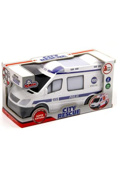 Vardem Oyuncak N366U 135A B Kutulu Pilli Ambulans Ve Polis