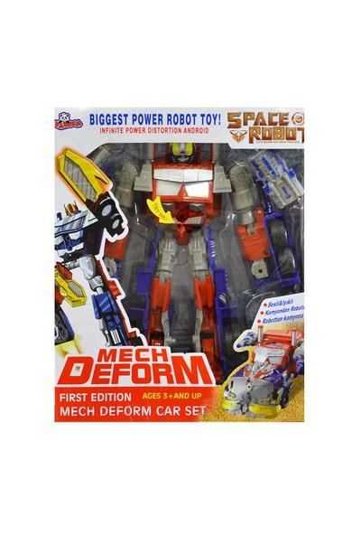 Vardem Oyuncak 622D-D227A-D2 Kutulu Kamyona Dönüşen Robot