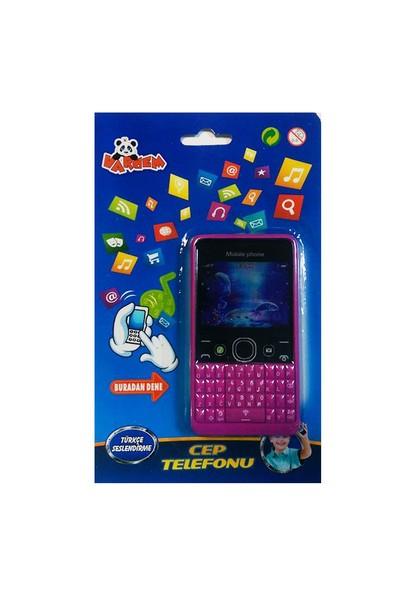 Vardem Oyuncak 865Hk Kart.Sesli Renkli Ekran Cep Telefon