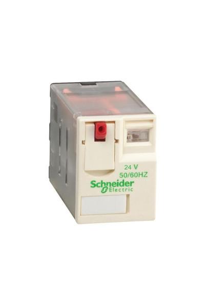 Schneider 14Pinli 24Vdc Röle Rxm4Ab1Bd Mini