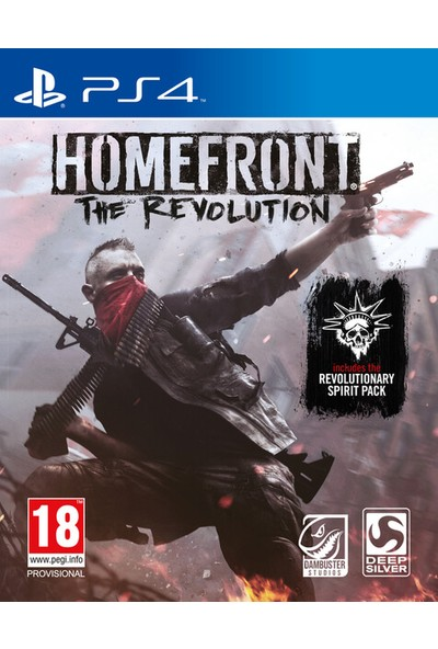 Homefront The Revolution PS4 Oyun