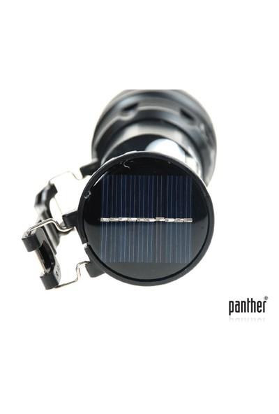 Panther Pt-2881T Solar Şarjlı Fener